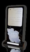 لوح سپاس دومین همایش توسعه صادرات نرم افزار ایران